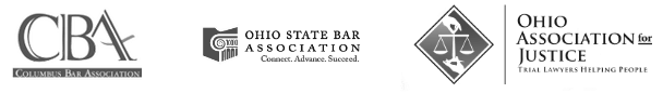 logos of Columbus Bar, Ohio State Bar, and Ohio Association for Justice